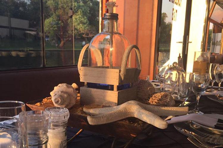 Liquid Lounge Sea Themed Table