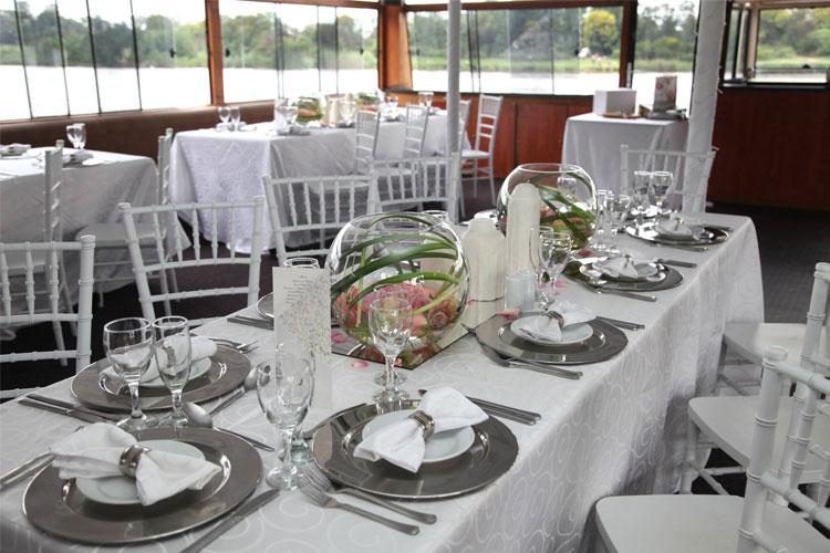 Liquid Lounge Wedding Setup